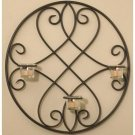 Luca Belle Home- Wrought Iron Wall Scone