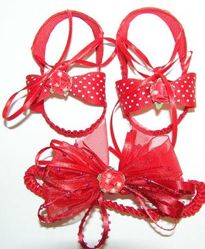 Baby Sandals-RED NEW