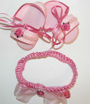 Infant Baby girl shoes-PINK