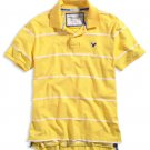 AMERICAN EAGLE men's AE cotton polo - Yellow XXL