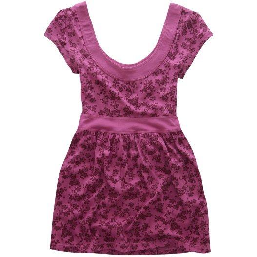 AEROPOSTALE womens Print Back Tie Babydoll knit top shirt - Pink / Small S