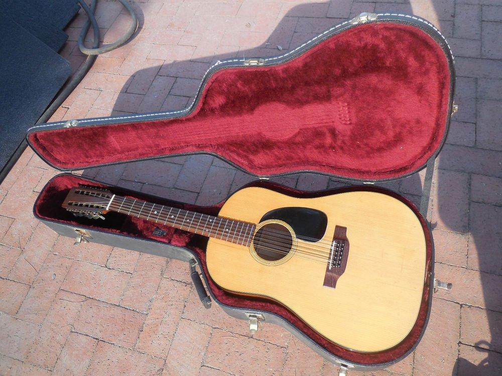 1972 Martin D-12-20 Acoustic 12 String Guitar