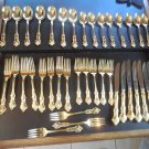 International Deep Silver Silverplate Gold 39 pcs serves 7