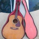 Vintage Yamaha Acoustic Guitar