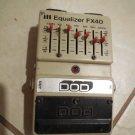 Vintage Dod FX40 Equalizer Guitar Pedal