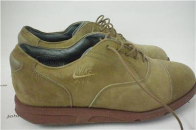 Nike Leather Air Golf Shoes Size 7.5 or 255mm, Korea