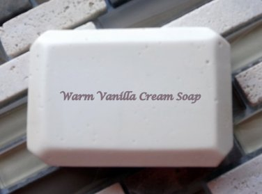 Warm Vanilla Cream soap