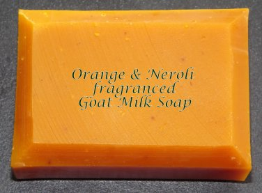 Orange & Neroli Goat Milk Soap