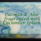 Coconut & Aloe Soap - Cucumber Splash