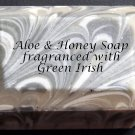 Aloe & Honey Soap - Green Irish