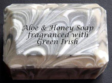 Aloe & Honey Soap - Green Irish