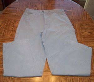 FADED GLORY Mens Men's CARPENTER PANTS Slacks Waist 34 Inseam 34 FG 7303 001mp-1 location90
