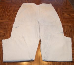 SONOMA Vintage Khaki Mens Men's CARGO PANTS Slacks Waist 34 Inseam 32 001mp-2 location93
