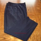 Fundamental Things Classic Navy Women's Wool Career Pants Size 16 Made in USA 001p-13 location89