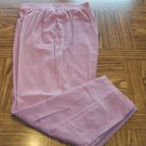 Season Ticket Dusty Rose Women's Corduroy Casual Pants Size 16 Made in USA 001p-14 location89