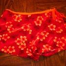 No Boundries Women's Orange Tropical Print Shorts Size S 001sh-01 Womens Slacks Pants Bottoms locw21