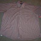 ARROW MEN'S Short Sleeve Red Button Front SHIRT Size XXL 18 1/2 001SHIRT-8 location90