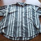 PURITAN MEN'S Short Sleeve Button Front SHIRT Size 2XL 001SHIRT-18 location100