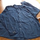 BASIC EDITION MEN'S Long Sleeve Navy SHIRT Size 2X XXL 001SHIRT-34 locationw5