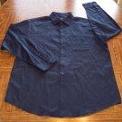 ALFANI MEN'S Long Sleeve Navy SHIRT Size L Large 001SHIRT-44 location99