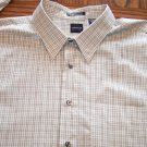 ARROW USA 1851 Wrinkle Free MEN'S LS Check SHIRT Sz 2XL 001SHIRT-58 location98