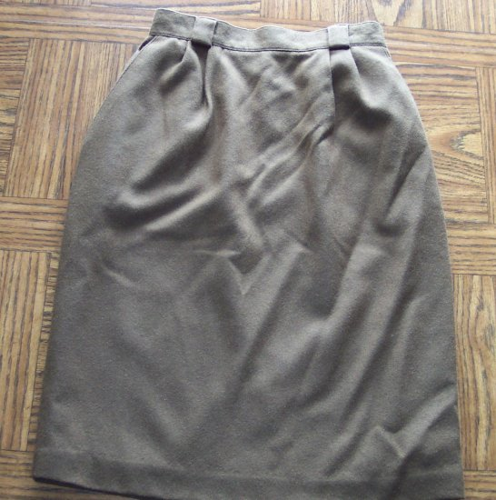 NWT Career Minded REQUIREMENTS PETITE Brown Pencil SKIRT Size 6P 001s-27 Womens Skirts locationw10