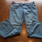 SO WEAR IT DECLARE IT Juniors Flare JEANS Size 13 001p-78 locationO4