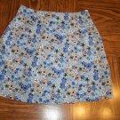 Floral IZ CALIFORNIA Wrap Mini SKORT Size 3 001s-31 Womens Skirts locationw12