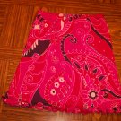 Hot Pink Ruffle NECESSARY OBJECTS SKIRT Size Medium M 001s-32 locationw12