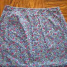 Floral EXPRESS WORLD BRAND Mini SKIRT Size 5/6 001s-34 locationw11