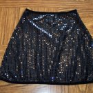 Sheer Black JUMPING JOY Mini SKIRT Size Medium M  001s-42 Womens Skirts locationO4