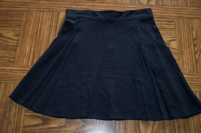 JEANSWEAR COUNTY SEAT Brown Black Tiny Check Mini SKIRT Size 7  001s-44 locationw11