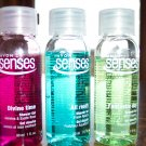 Avon Set of Three SENSES Travel Size SHOWER GELS New and Untested