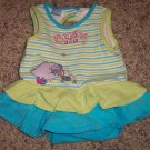Wonderful World of Disney INFANT Girl's Eyeore Romper 0-3 Months locationw9