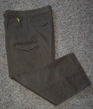 DOCKERS Mens Men's Taupe CARGO PANTS Slacks Waist 33 Inseam 30 Style 40634-2536 001mp-3 location98