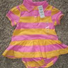 NWT The Children's Place INFANT Girl's Romper Outfit 12 Months locationw4