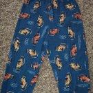 Carter's Boy's Sleep Pants Pajama Pant Child 4T Blue Race Cars Racing locationw8