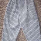 Gymboree Boy's Denim Pants Striped Blue Gray Space Small S locationw8