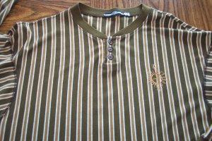 MARITHE GIRBAUD FRANCOIS MEN'S LS Vertical Stripe SHIRT Sz XL 001SHIRT-62 locationw7