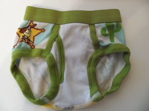 Boy's Toy Story Woodie Preowned Underwear Toddler 2T/3T locationw9