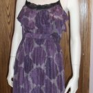 LiL Floral Print Silk DRESS Size 10 Summer Out on The Town dress-29 location6