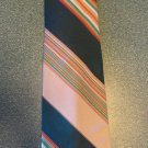 Sears The Men's Store Men's TIE NECKTIE Green Stripe tie13 location47