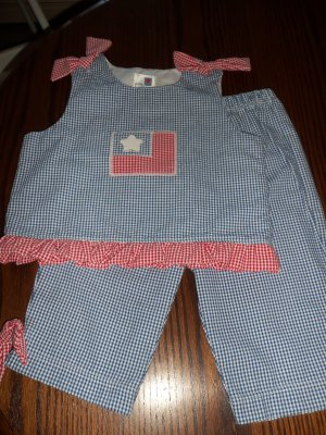 Little Traditions Boutique Girls Summer Patriotic Outfit Sz 6X 7 location6