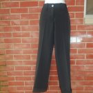 NWT MARITHE+FRANCOIS GIRBAUD FAB BLACK PANTS 44 IT F 40 8-10 US