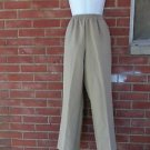 NWT ALFRED DUNNER BEIGE/TAN PULL ON PANTS 10M