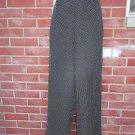 NWT TALBOTS BLACK&WHITE DIAMOND PRINT DRESS PANTS 12 $108