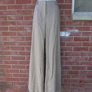 NWT WORTH BEIGE WOOL GLADYS PANTS 6 $348