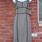 NWT MUSE CUTE BLACK&WHITE PRINT DRESS 6