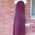 NWOT LAUREN FAB RED&NAVY STRIPED CHAIN HALTER DRESS 4