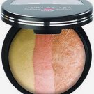 Laura Geller VANILLA PEACH COBBLER Baked Cheek Dreams Blush & Highlighter Trio